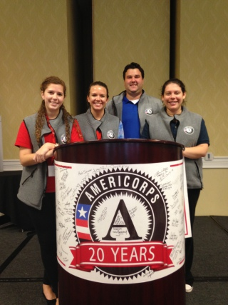 USERV AmeriCorps members improve economic opportunity